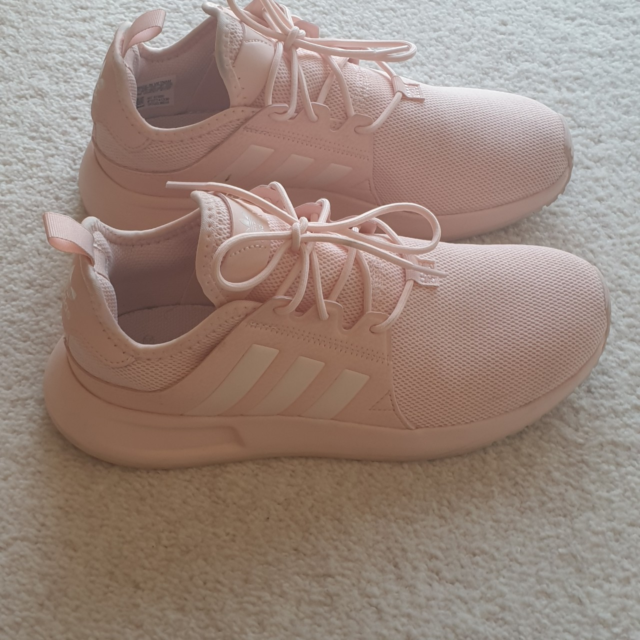 Ladies/Women's pink Adidas trainers., Size...