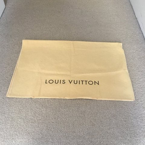 c13aadf5f72b AUTHENTIC LOUIS VUITTON DUST BAG Store your bag within this - Depop