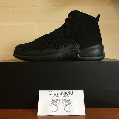 9421b6880d01bf Nike Jordan 12 Retro x OVO. These shoes are brand new with x - Depop