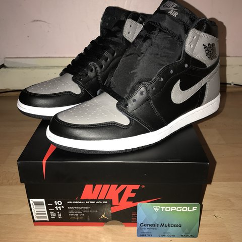 6415ede77a78 Shadow AJ1s Ship double boxed - Depop