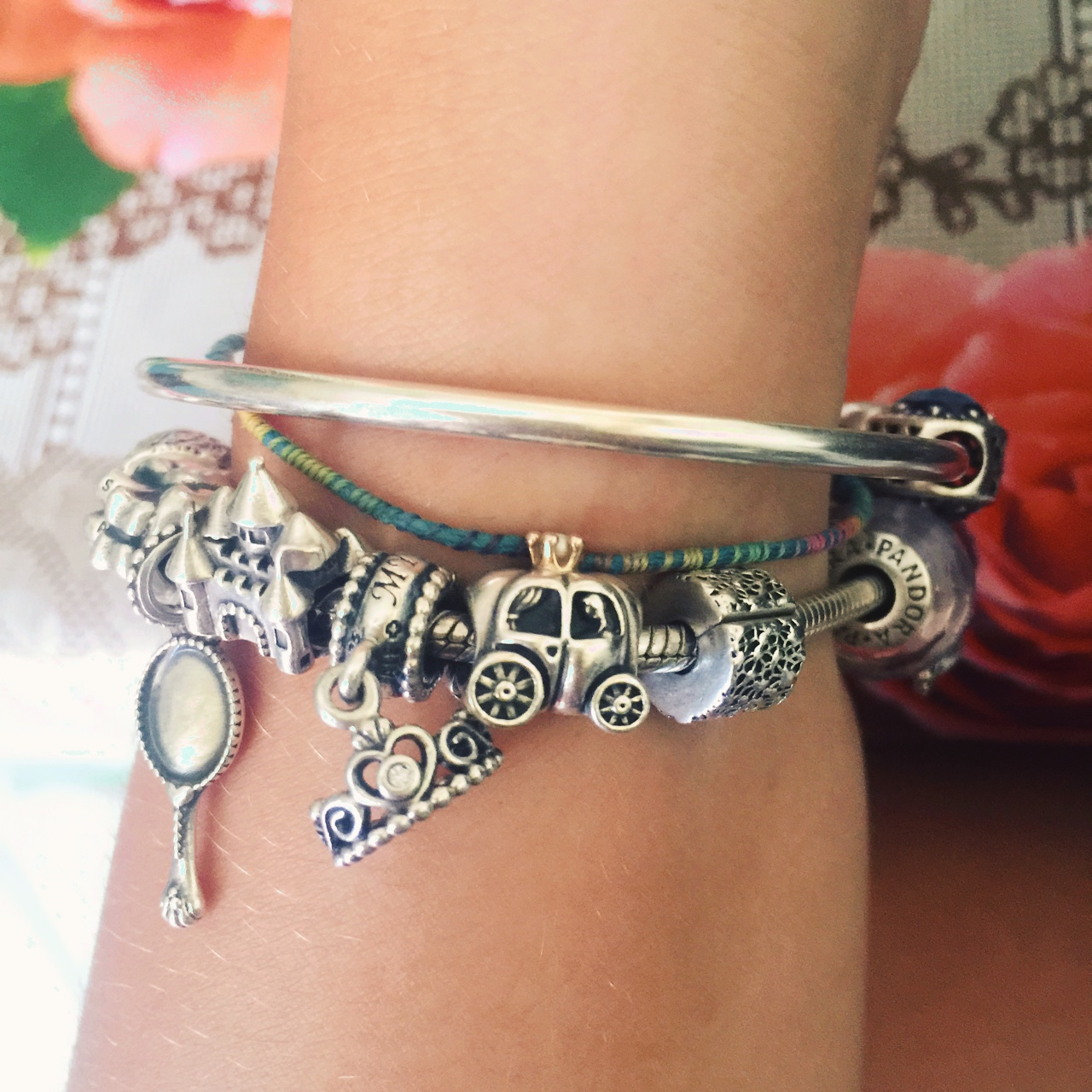 charm pandora disney carrozza