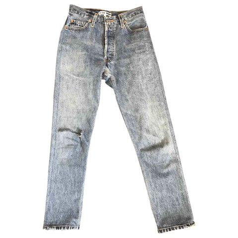 1736c8490f142 Re done x Levi s High Rise Ankle Crop jeans
