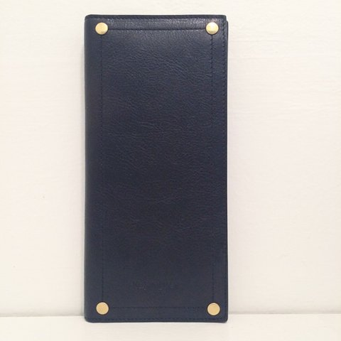 ca5667776d4 Yves Saint Laurent black travel wallet. Slots for passport, - Depop