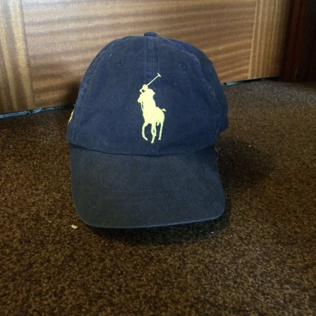 Polo Ralph Lauren adjustable hat. One size fits all. - Depop a172c7b6182