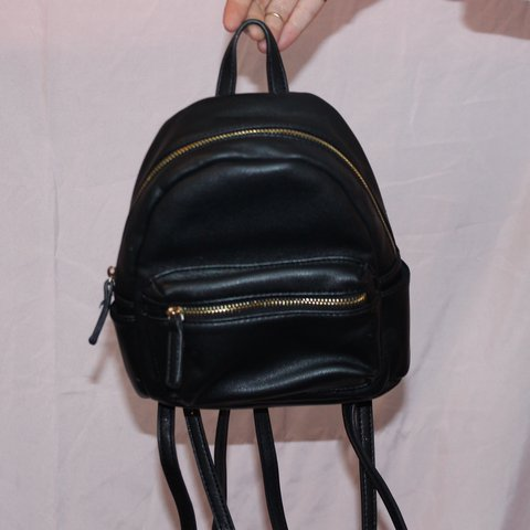 f56e36cee9 Forever 21 mini Faux Leather backpack