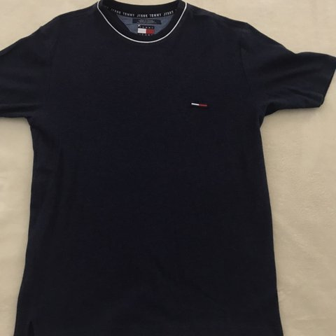fb11f73d @jyoungg. 6 months ago. Spring Hill, United States. Vintage 90s Tommy  Hilfiger navy blue waffle knit flag logo t shirt size Large