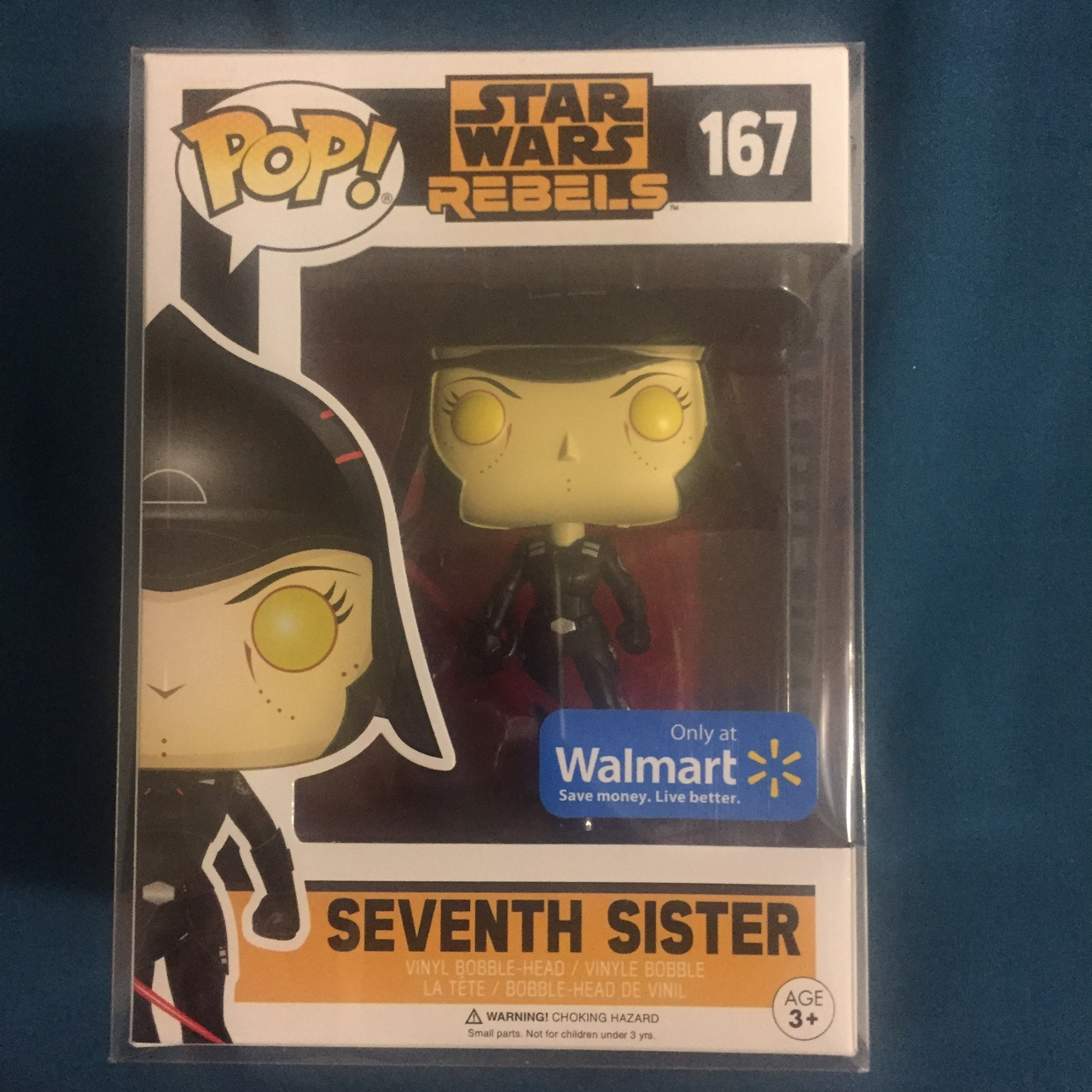 Star Wars Rebels 'Seventh Sister' Funko Pop Walmart    - Depop