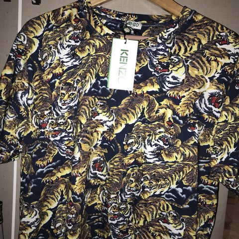 e9aa815ae @guappin. last year. Nottingham, UK. Kenzo flying tiger t shirt. Sold out  everywhere.