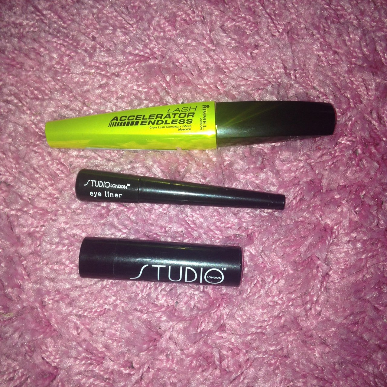 a2c6cf0e24e Bundle of eye things 💗 Rimmel London mascara , Studio eye x - Depop