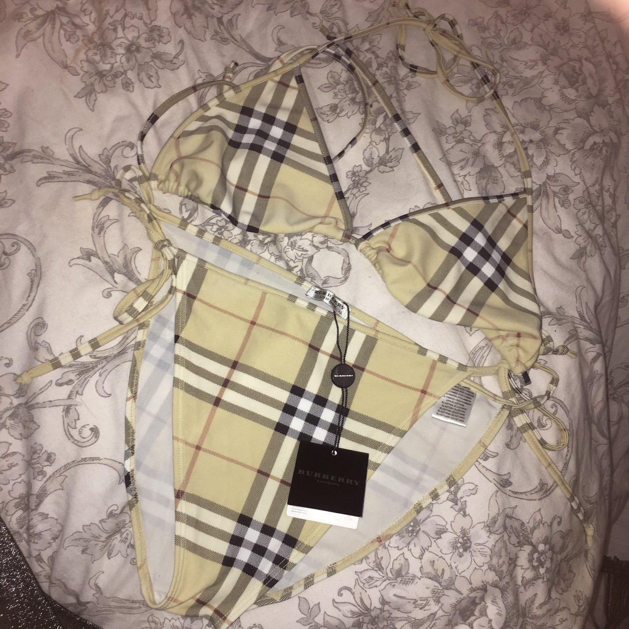 Thinking of selling Authentic Burberry bikini which was from - Depop 11e9c971a3902