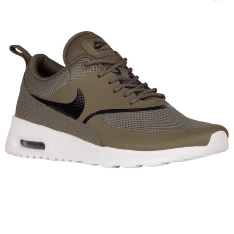 05046aa13c @lexccloset. 2 years ago. Wylie, TX, USA. Olive green Nike air max Thea ...