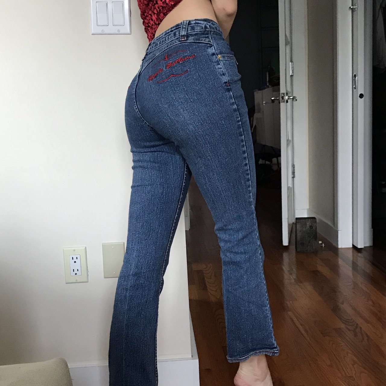 7df5f41e12d0d Cutest apple bottom jeans!! Wish these fit me they re too    - Depop