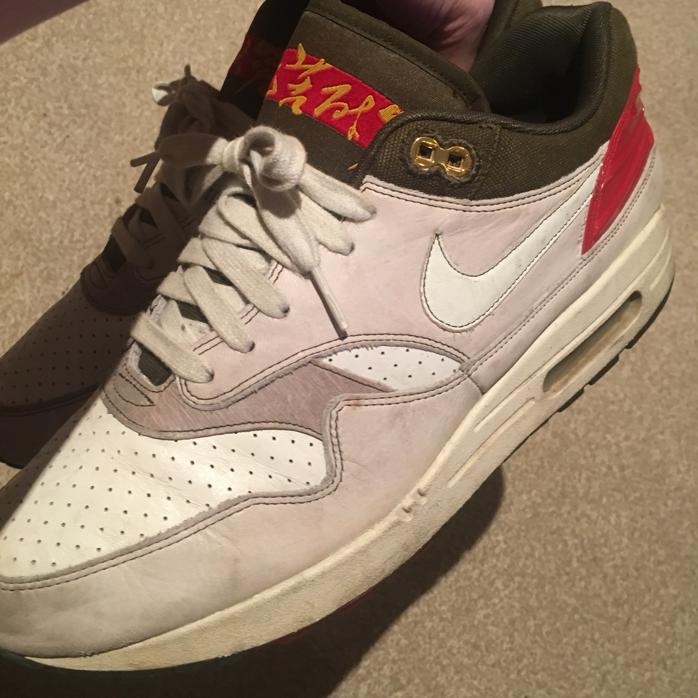 Nike Air Max 1 'Year of the Ox' from 2008 Depop