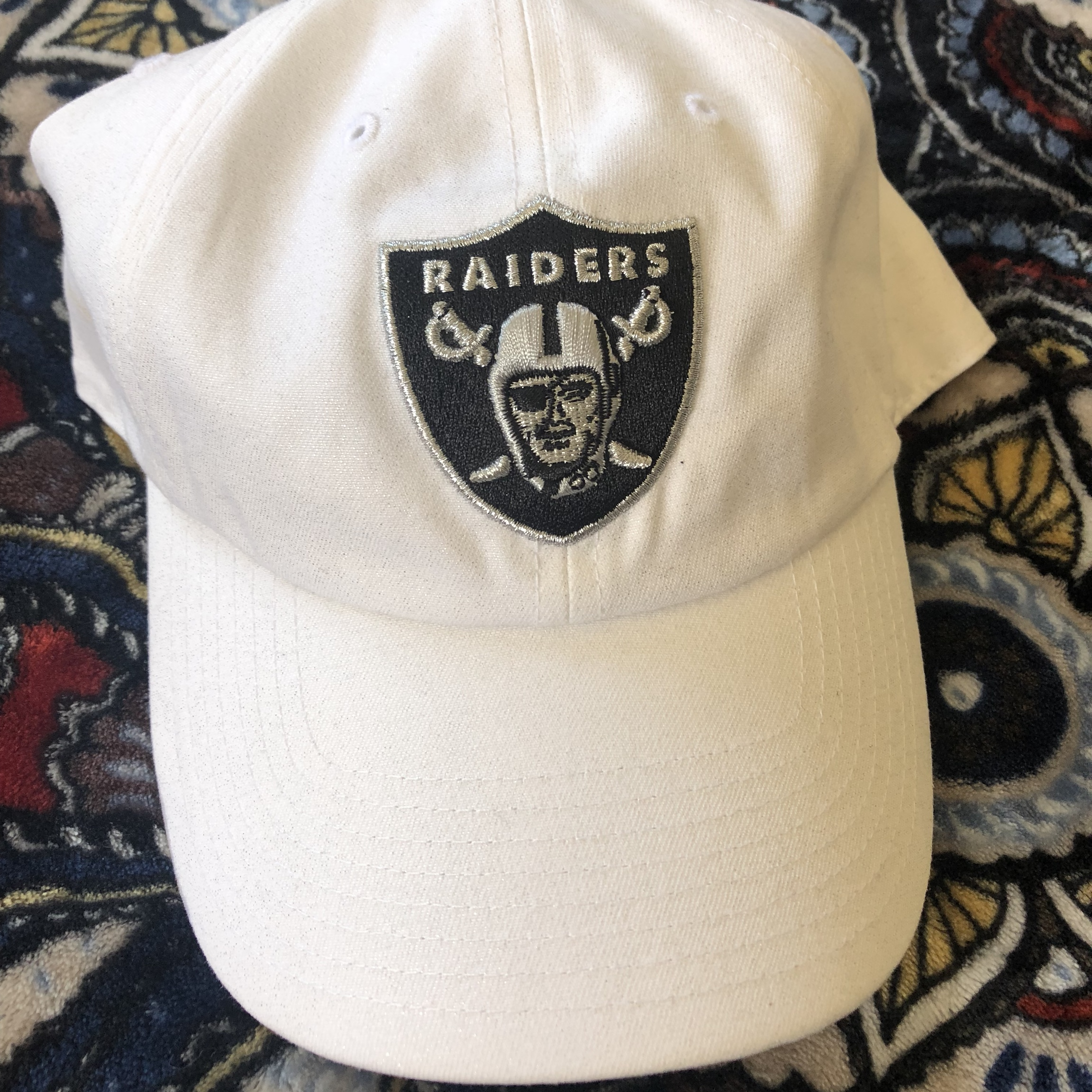 Oakland Raiders Hat '47 Clean Up (Brand and    - Depop