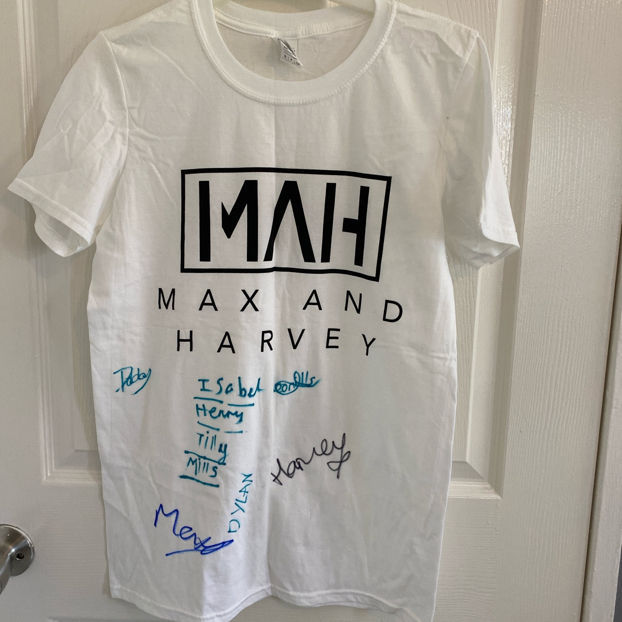 Official Max and Harvey Merch from their concert....