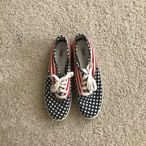 a45d7881396 Vintage keds Stars and Stripes sneakers