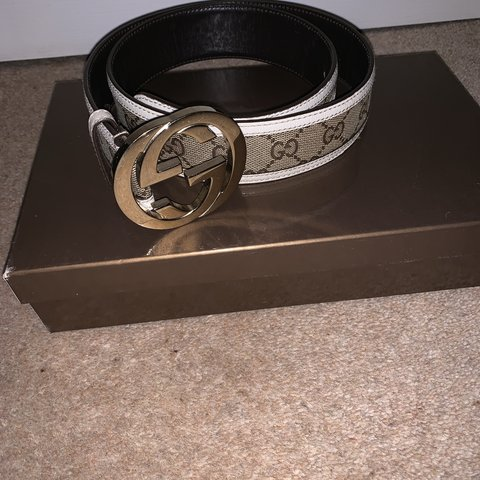 2ec346837eb 100 authentic Gucci belt any questions plz ask it s in realy - Depop
