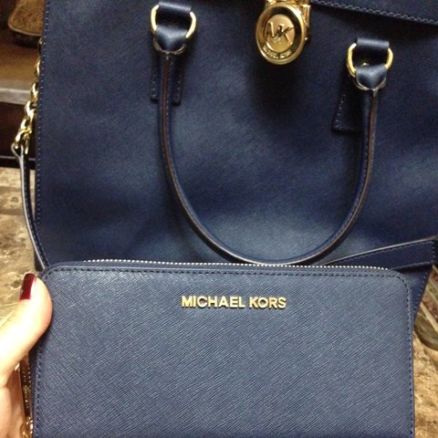 7e0c2258c Brand new, never used Michael kors Hamilton large bag in is - Depop