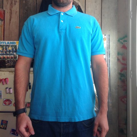 7f91b50d Vintage Lacoste Polo Shirt Lacoste Size 6 Large Men S Is Depop