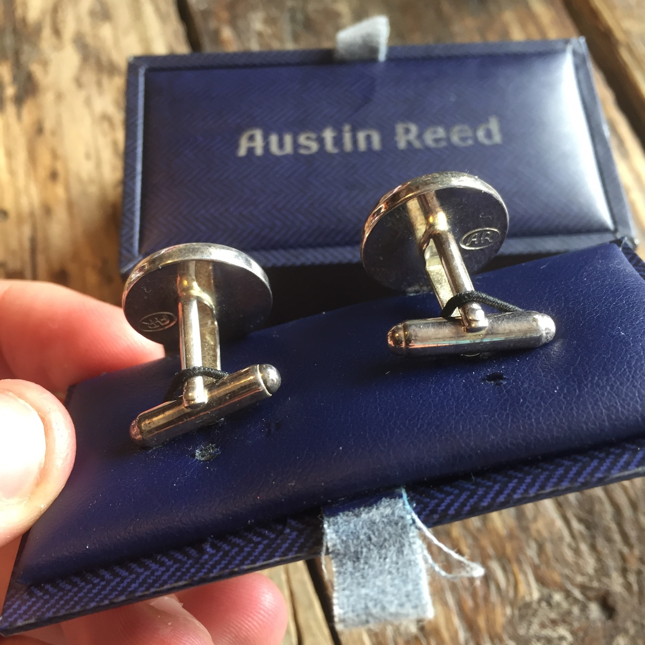 Vintage Austin Reed Men S Cufflinks One Size Depop