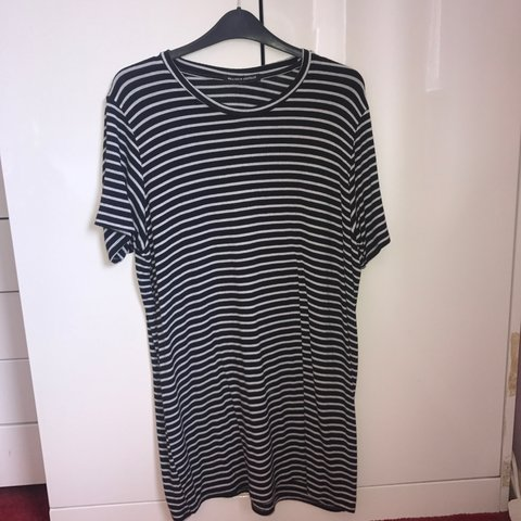 d8eb6f87abaaf @sophcampion. 2 years ago. Broadstairs, United Kingdom. brandy melville  black and white stripe t shirt dress ...