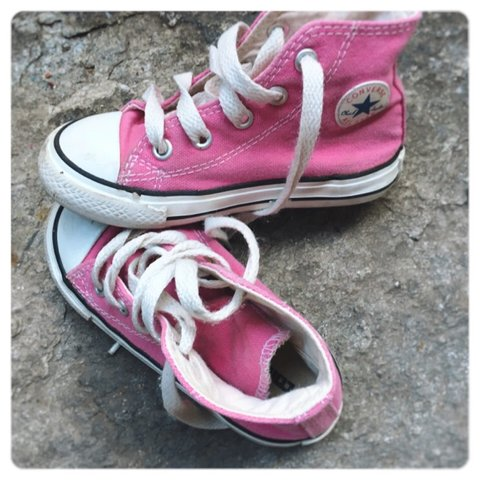 2converse all star bambina fucsia
