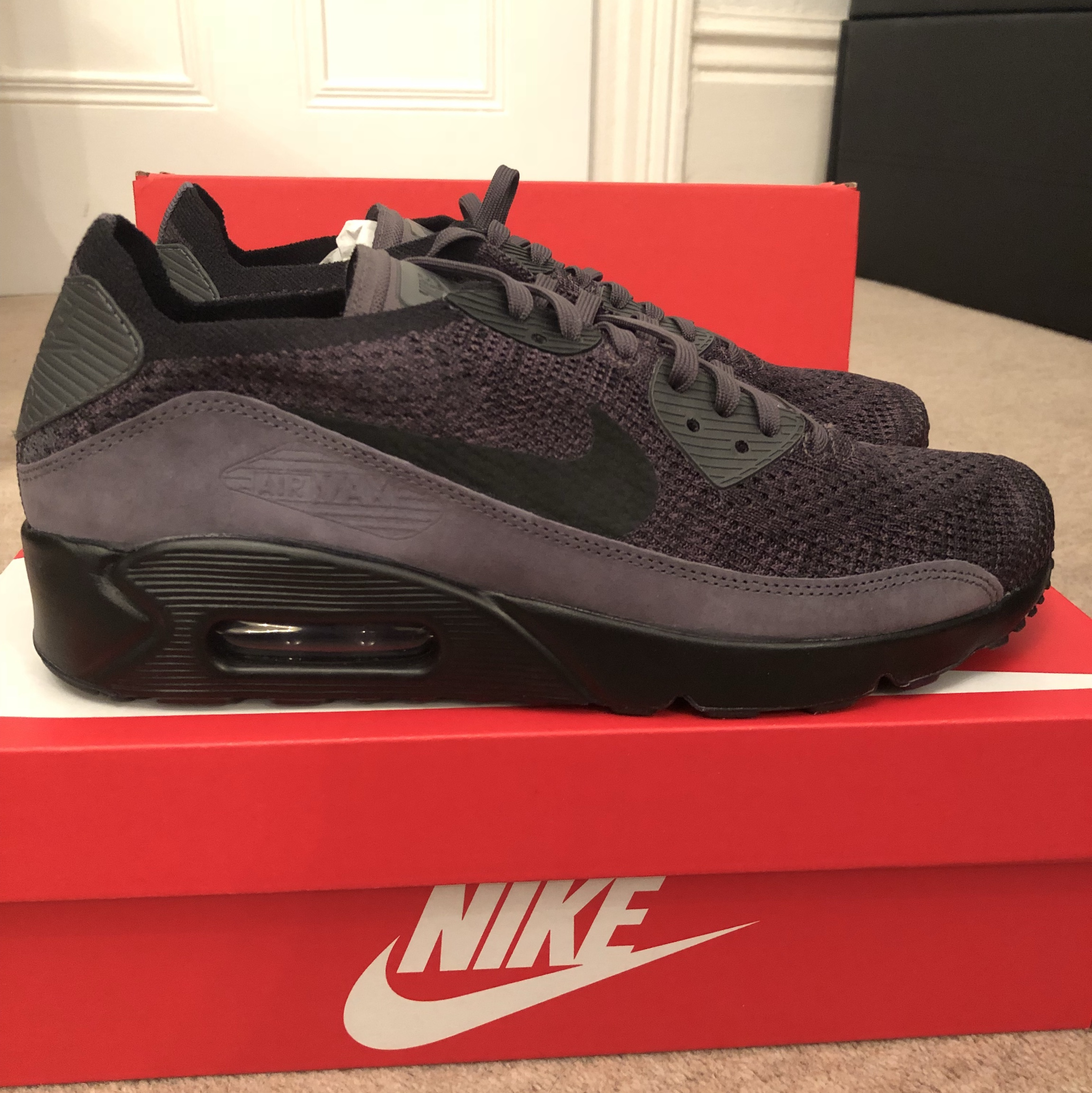 quality design d4824 93aa1 NIKE air max 90 ultra 2.0 flyknit trainers. Brand... - Depop
