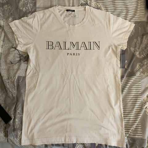 971fa4cd @charlieholmes10. 10 days ago. Deal, United Kingdom. Men's Balmain Paris T  shirt. Excellent condition. Purchased from Selfridges.