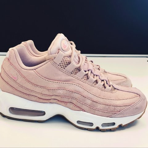 efde76e5be @danniisff. 2 years ago. London, UK. Nike Air Max 95 OG Baby pink