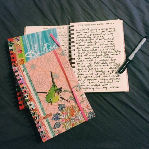 a27cdb861057e 🌸Handwritten journal consisting of 15 of my writings