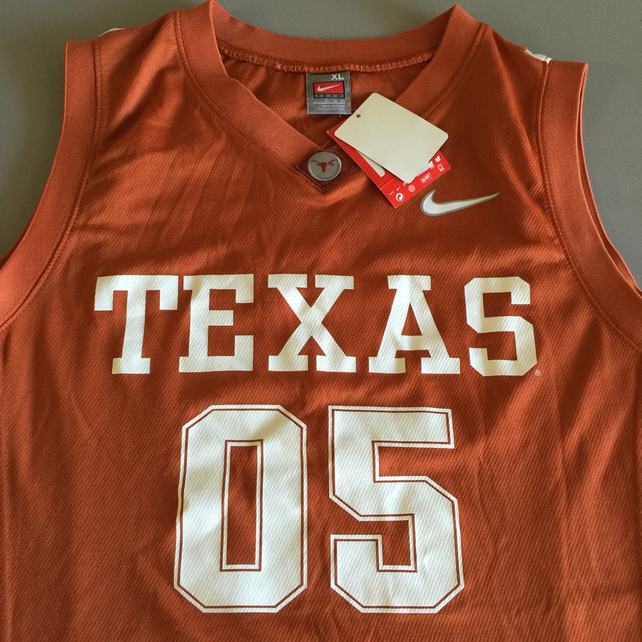 quality design 6df7c 3b621 Men's University of Texas basketball jersey. Nike... - Depop