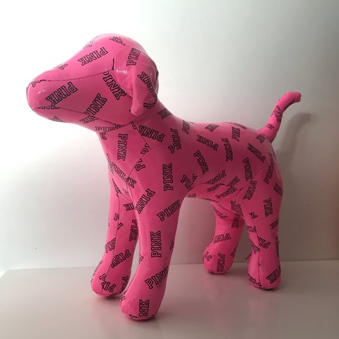 Victoria Secret Pink Dog Perfect For Room Decor Or A Gift Depop
