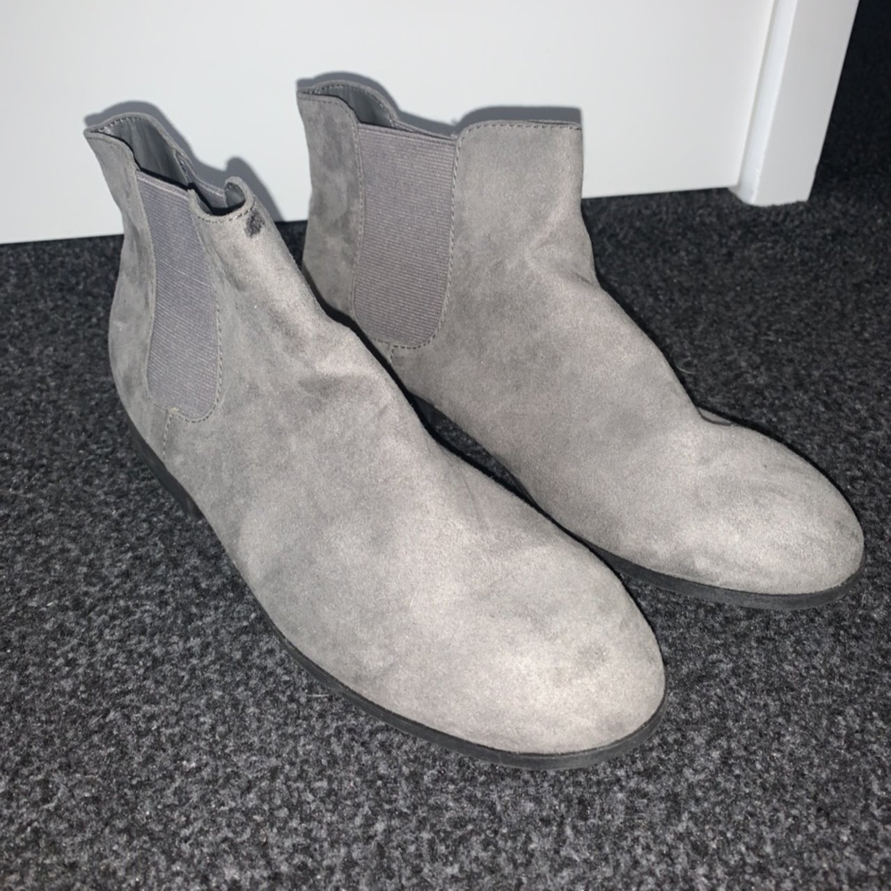 Asda/George grey ankle boots. Size 5