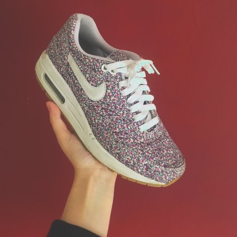 best cheap 36651 00cc5  melissagormley. 3 years ago. Dundee, UK. NIKE ID X Liberty London Floral Air  Max 1 ...