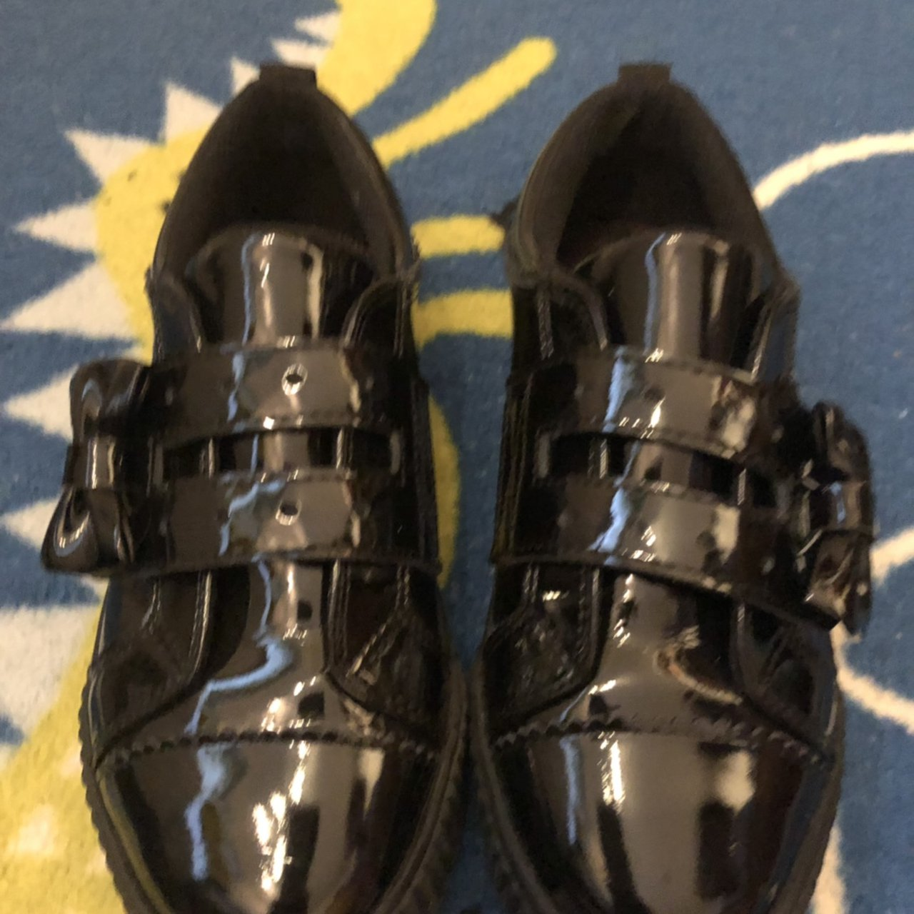 Kickers #girls black school shoes #only