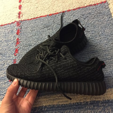 d89b93924893b UA yeezy boost 350 pirate black ON HOLD - Depop
