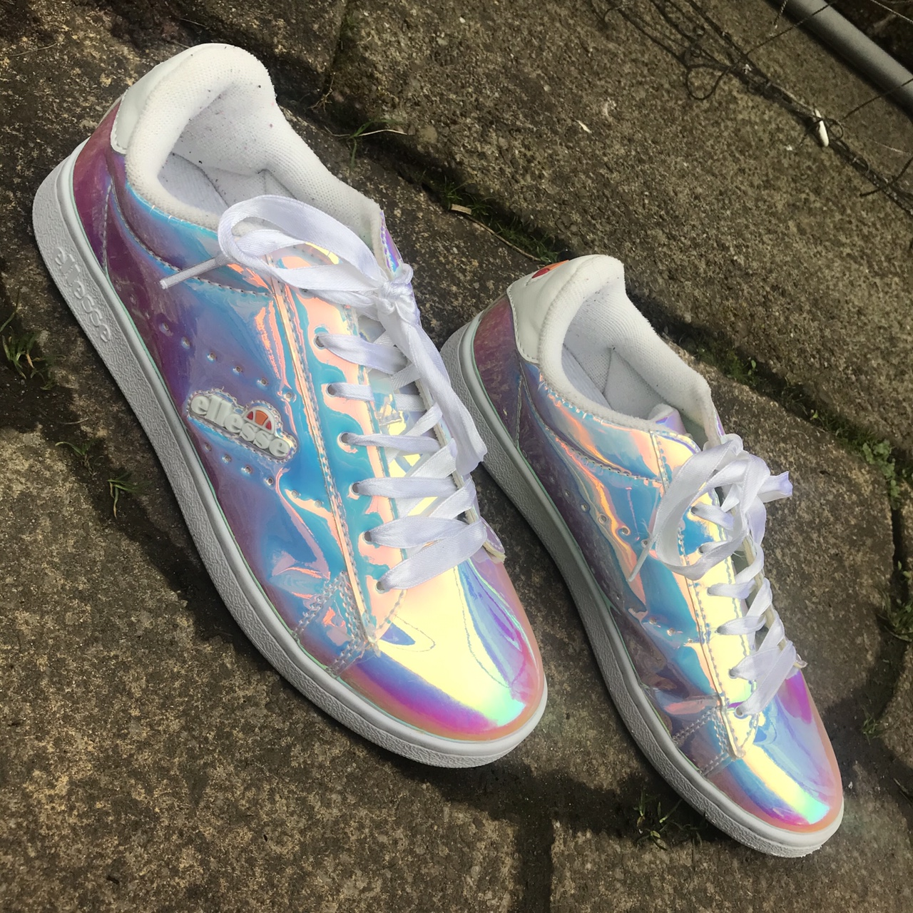 Ellesse Holographic trainers
