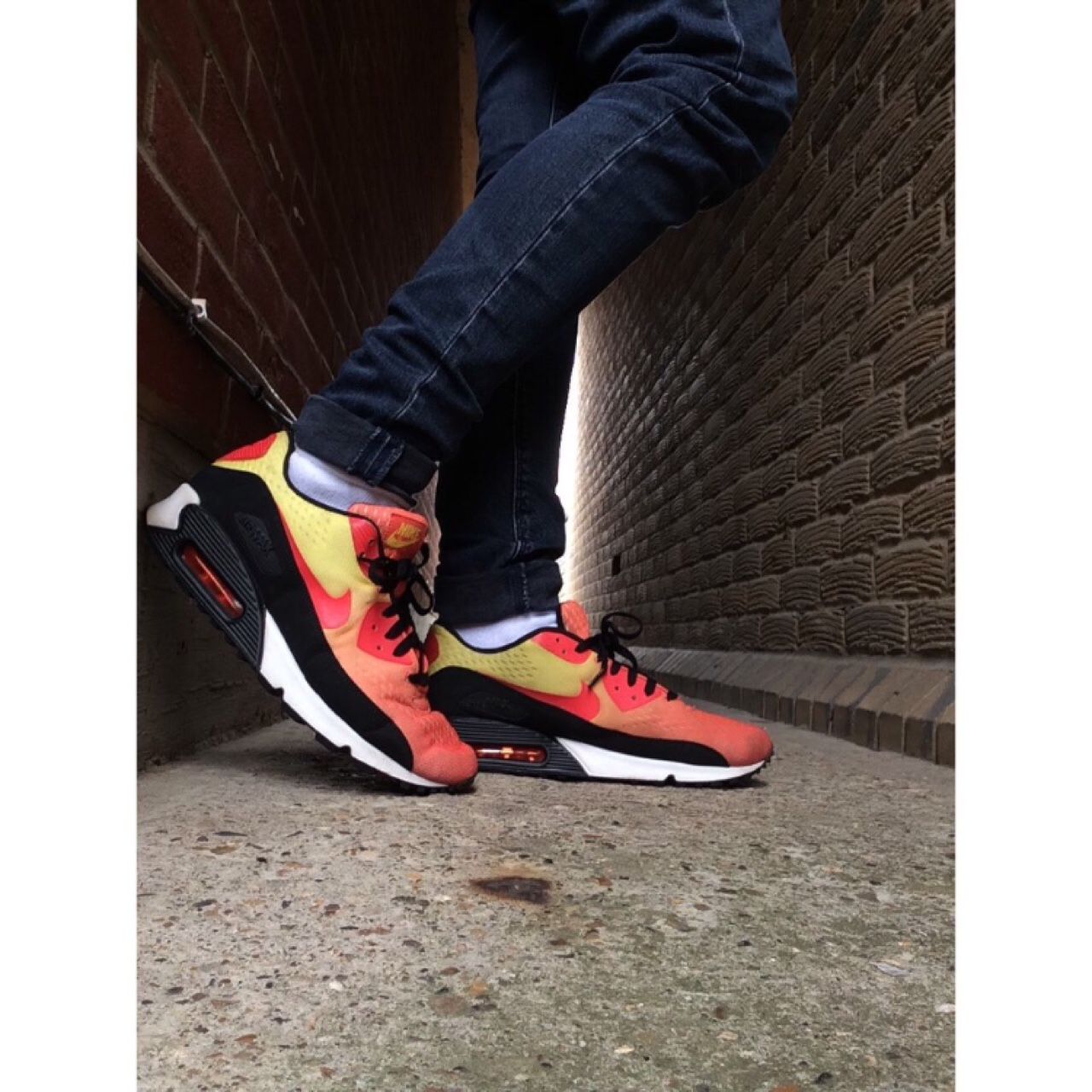 2012 nike air max 90 sunset pack ☀️ mad colours, mad