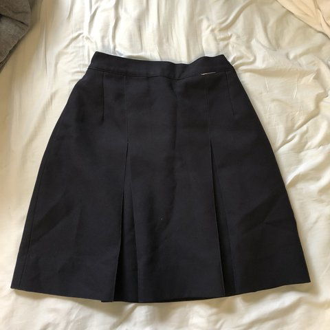 """c9b2d2e96 @brittany__45. 7 months ago. Syracuse, United States. Navy blue school girl  skirt. Fits a 26""""-28"""" waist (there's ..."""