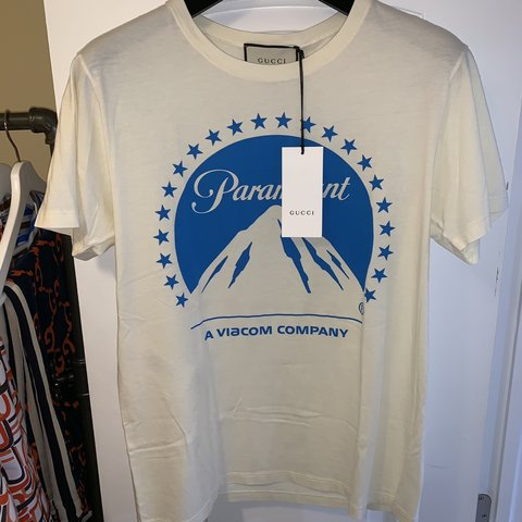 74e85d44c47 GUCCI Oversize T-shirt with Paramount logo  590 BRAND NEW
