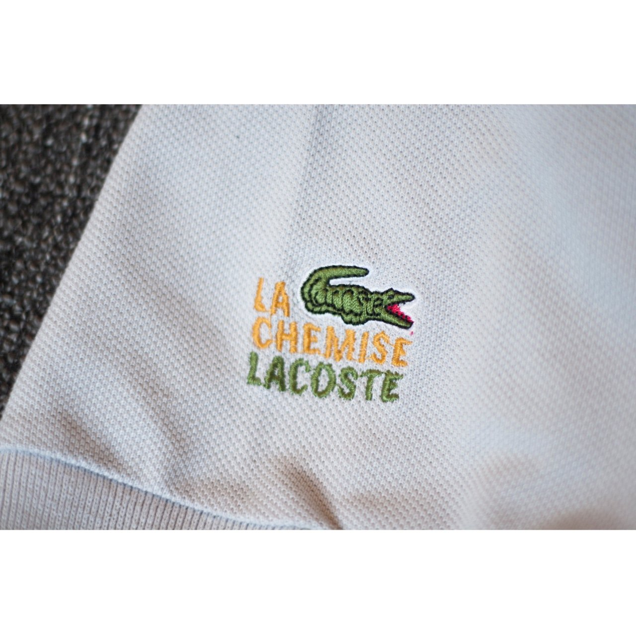 d654548fde257 Price drop! Vintage Chemise Lacoste Polo shirt. In great XXL - Depop