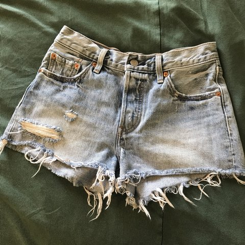 20157a8c8a Button fly Levi shorts from urban outfitters! Bought these - Depop