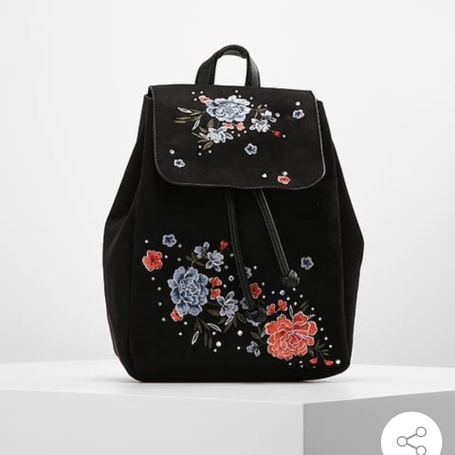 New look floral mini backpack  10/10 condition just    - Depop