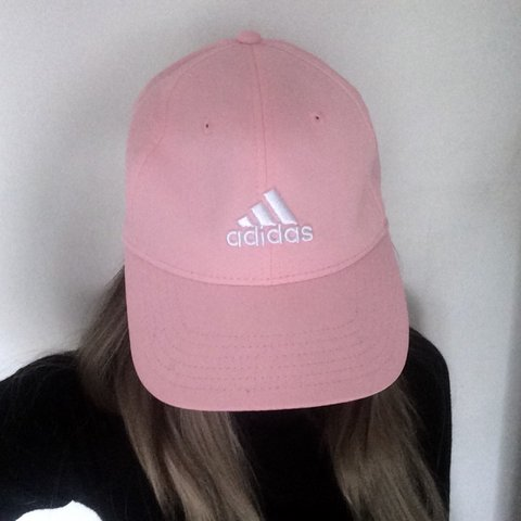d7b0554073155 Light pink adidas cap. Size small with adjustable strap. for - Depop