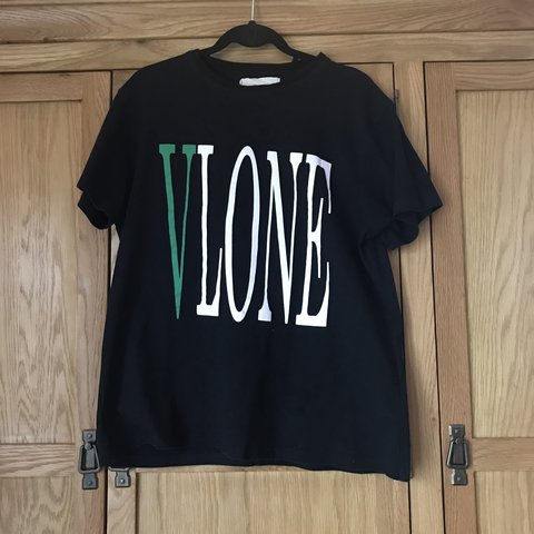 60650cbb @danielkinsella. last year. Leeds, United Kingdom. Vlone x off White Virgil  Abloh t shirt. Black colourway. Size small ...