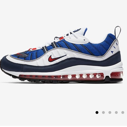 1b9df56df91 Nike Air Max 98 Gundam colourway Size UK 8 - 2 Sold UK 9 - 1 - Depop