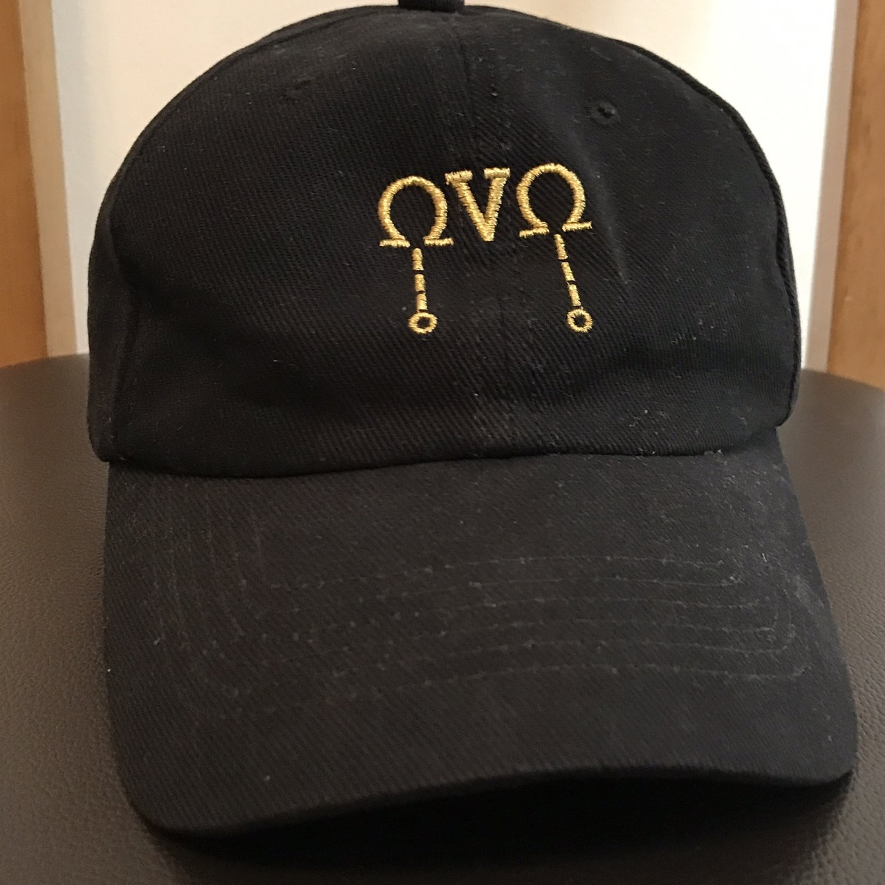 Octobers very own OVO cap Black colourway Good condition hat - Depop b2d36436980