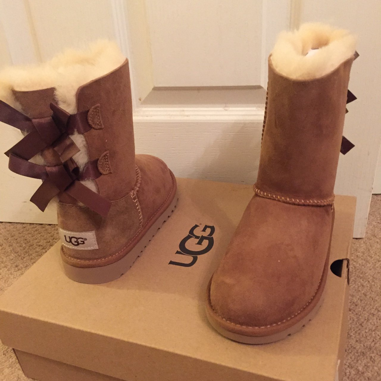 d9512d92b99c Girls Ugg boots size 12 brand new in box  UGG - Depop