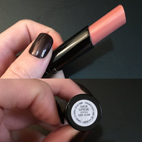 Brand New MAC Sheen Supreme / Huggable Lipcolor - message to - Depop