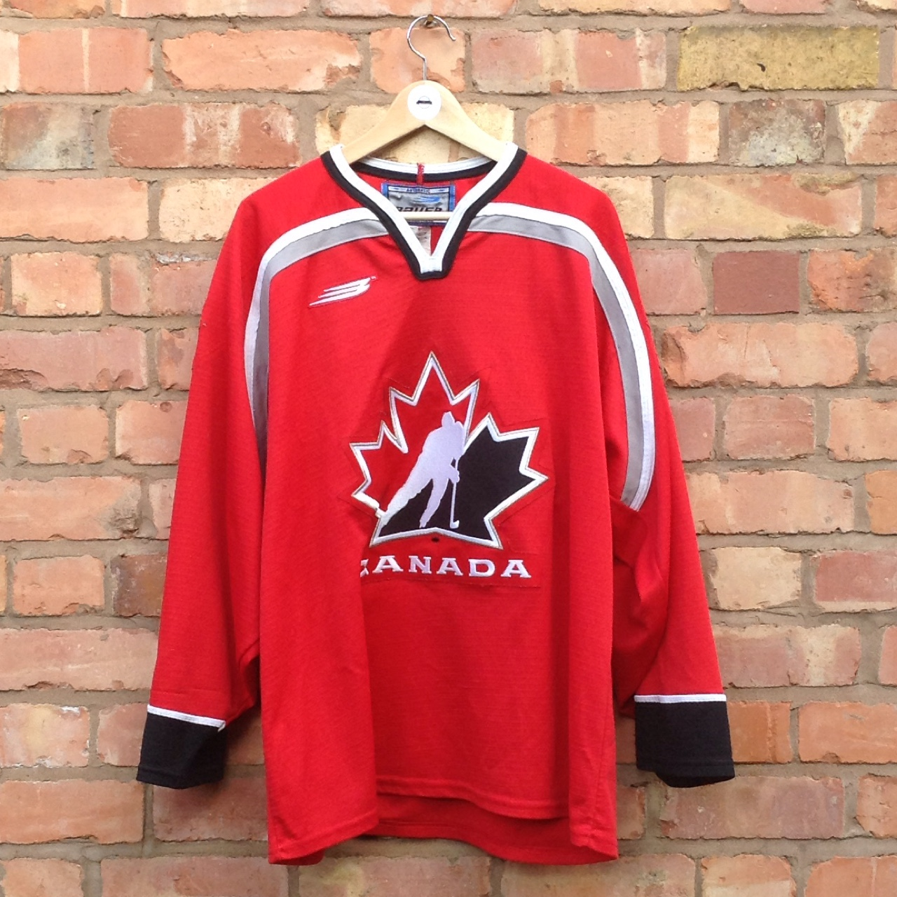 huge selection of a5cdf c3706 Mens rare vintage overhead Canada ice hockey jersey ...